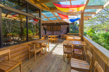 Boquete Panama December 16, 2018 in this restaurant every night you can hear good live music and taste excellent local dishes. During the day it is open  the coffee shop Editorial