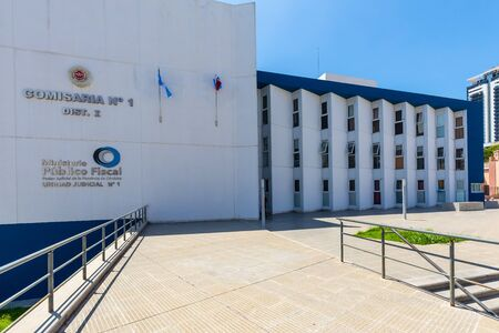 Cordoba Argentina January 24 This building houses the local tax ministry and is located in Southern Cordoba Shoot on January 24, 2020