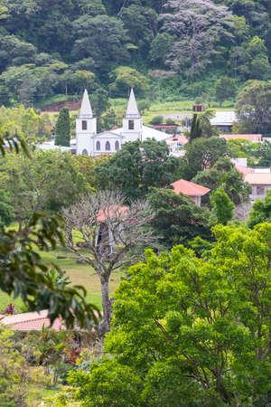 Panama Boquete San Juan Bautista Church the main church in the town