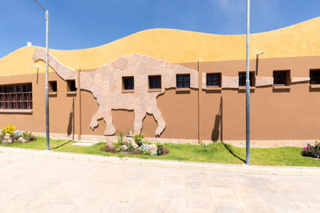 Sucre Bolivia September 27 The Cretaceous Park located in Northern Sucre was built with the assistance of expert paleontologists. Shoot on October 17, 2019