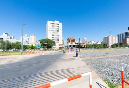 Cordoba Argentina December 17 Panoramic view of Arenales district in Northern Cordoba. Shoot on December 17, 2019 Editorial