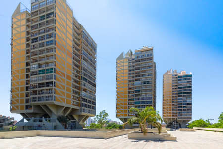 Cordoba Argentina December 17 from these modern buildings located in Northern Cordoba you can admire nice panoramic views of the center. Shoot on December 17, 2019