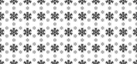 Hello Winter with snowflakes. Blue winter snow landscape. Funny vector snowfall sign Falling snowflake. Merry Christmas (xmas). Snow fall or snow flakes