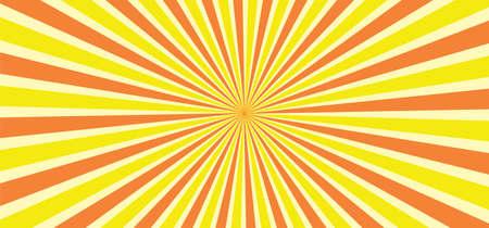 Starburst style shapes Stripes retro pop art 80's 70's years background Funny vector comic clipart line Geometric seamless pattern elements Sunshine cartoon line radial lines rays burst Sun Sunburst
