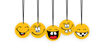 Happy world smile day, smiling is loading Big happiness Fun thoughts emoji face emotion smiley Laughter lip symbol Smiling lips, mouth, tongue Funny teeth Vector laugh cartoon pattern Lol laughing