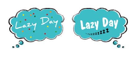 Happy Lazy Day World sleep day Dream day asleep counting shhh silent please be quiet please silence sleeping mute Fun funny vector sheep good night Pajamas tim sleepy sunday long weekend human 向量圖像