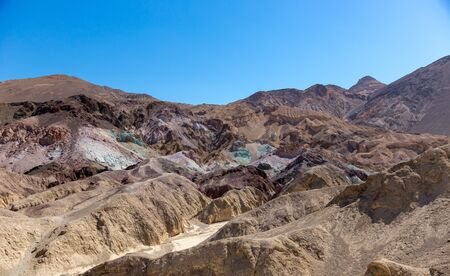 Artists drive in Death Valley is so called because all the colors seem like an artists palette.