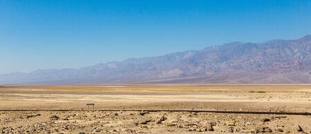 View in Death Valley USA Death Valley National Park is on the California—Nevada border, east of the Sierra Nevada.