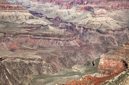one of the many viewpoints over the Grand Canyon