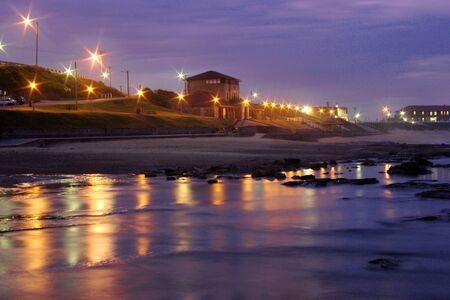 scenes from Newcastle Beach Australia