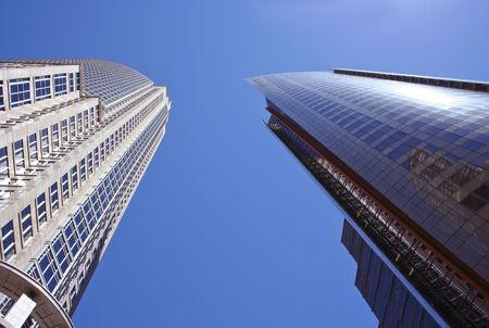 office buildings: High Rise Office Buildings - by Mark Richards