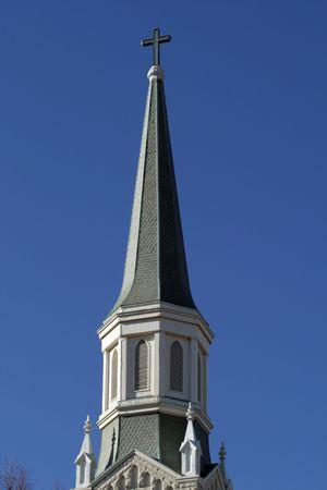 church steeple: Chiesa campanile dettaglio
