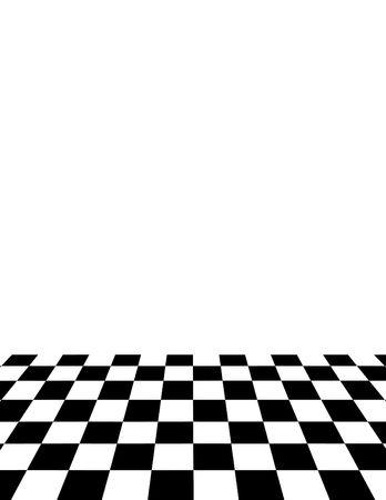 alternating: Tile Floor Illustration