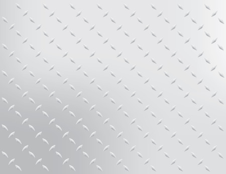 Diamond Stahl Hintergrund Vector Illustration Standard-Bild - 3108680