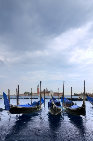 Three gondolas photo