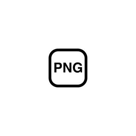 png: PNG format for image files, icon, symbol