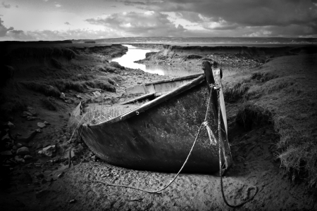 beached: Beached boat