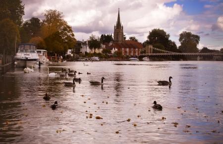 Thames at Marlow photo