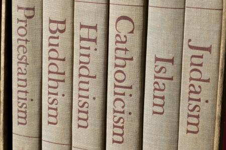 cat�licismo: Libro espinas Lista de las principales religiones del mundo - el juda�smo, el islam, el catolicismo, el hinduismo, el budismo y el protestantismo.