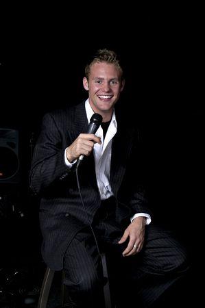 comedian: a nightclub comedian