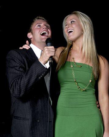 Karoke singers