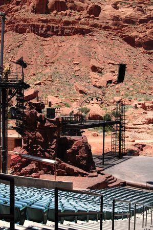 An outdoor amphitheater