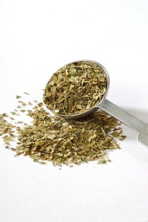 mesuring spoon of South American yerba Mate tea