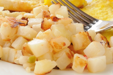 Potatoes OBrian with peppers and onions