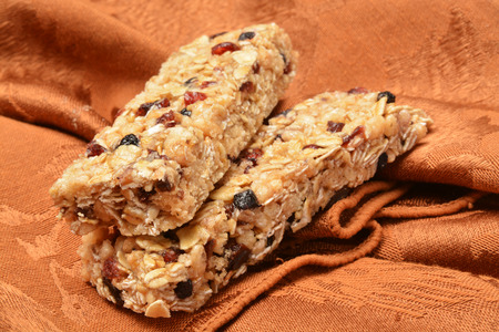 chewy: Chewy granola bars with raisins, berries and oats