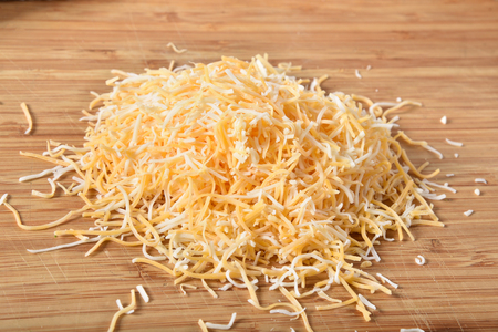 A blend of sharp cheddar, monterey jack, asadero and queso blanco cheeses finely shredded
