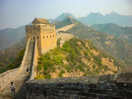 The Great Wall of China at Jinshanling, Beijing, China