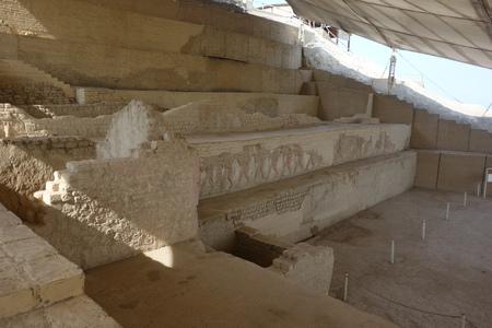 The El Brujo archaeological complex, north of Trujillo in La Libertad province, Peru. Banco de Imagens