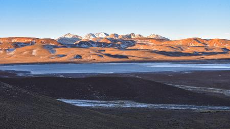 Dramatic landscapes of the mountains of the Cordillera de Lipez, in Sur Lipez Province, Potosi department, Bolivia