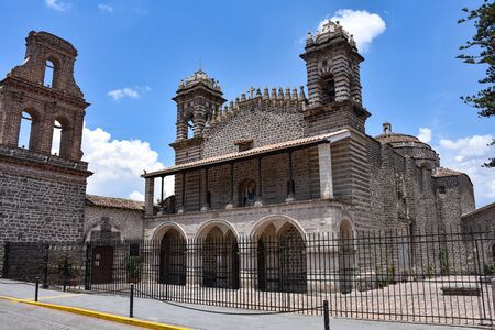Exterior view of the Santo Domingo Church in Ayacucho, Peru