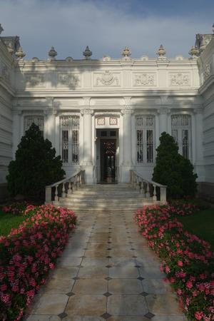 Lima, Peru - Nov 18, 2018: Pedro de Osma Museum in Limas Barranco district Publikacyjne