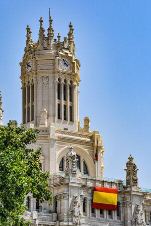City Hall building, Ayuntamiento de Madrid