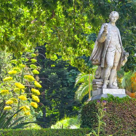 Madrid, Spain - July 21, 2019: Royal Botanical Gardens (Real Jardin Botanico)