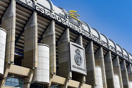 Madrid, Spain - July 21, 2019: Estadio Santiago Bernabeu, home of Real Madrid 스톡 콘텐츠 - 129476662