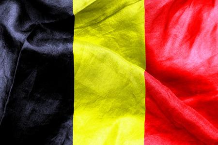 crease: Belgian flag texture crumpled up