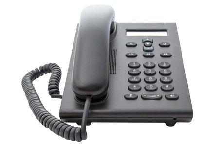 lcd display: Voice over IP phone with LCD display.