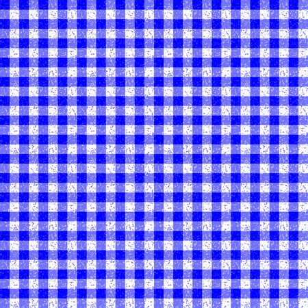 speckle: Gingham Classic Style blue and White Seamless Pattern With Speckle Effect