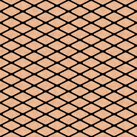 hosiery: Fishnet stockings pattern on a pale skin texture seamless tile 3D illustration