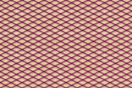 창백한 피부 질감에 보라색 fishnet 스타킹 패턴