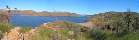 Lake Argyle, Western Austalia. Stock Photo