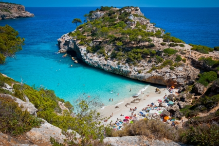 majorca: Calo des Moro  Spain  Stock Photo