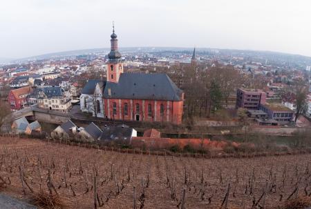 paulus: St  Paulus Church, Bad Kreuznach Stock Photo