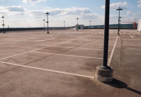 Empty Car Park photo