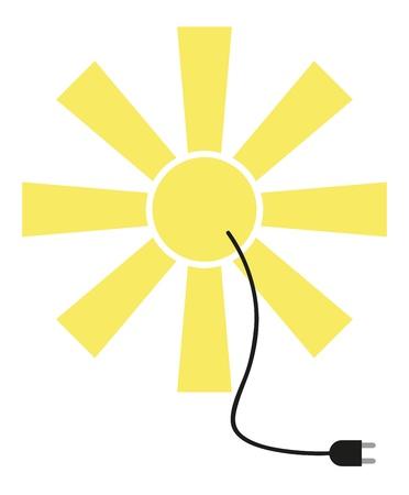 Solar Power Stock Vector - 15216113