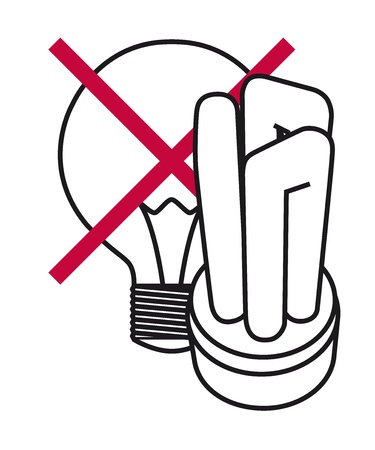 Energy Saving Lamp Stock Vector - 15216116
