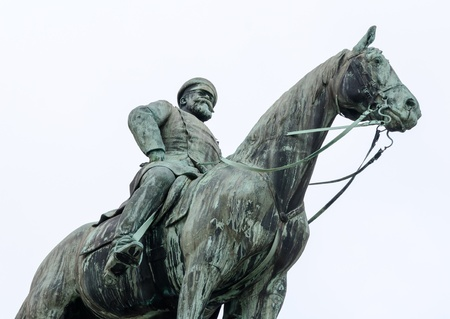 attraktion: Ludwig Horse Statue Stock Photo